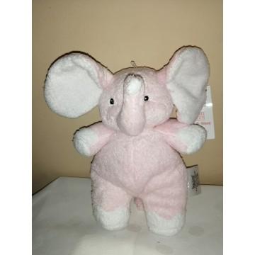 Elefantito rosado sonajero