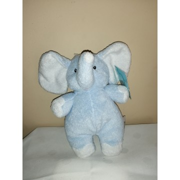 Elefantito celeste sonajero